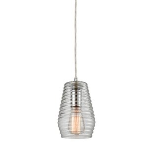 Denissa 1-Light Cone Pendant by Orren Ellis