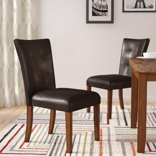 Creekmore Upholstered Dining Chair (Set of 2) Red Barrel Studio