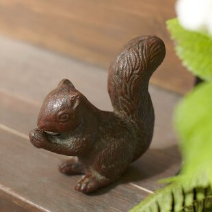 Iron Squirrel Figurine by Birch Lane?