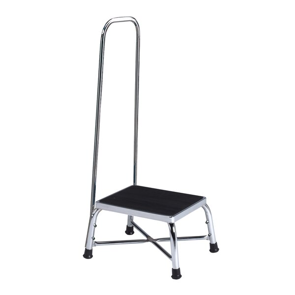 Brewer 1-Step Steel Bariatric Step Stool with 600 lb. Load Capacity u0026 Reviews | Wayfair  sc 1 st  Wayfair & Brewer 1-Step Steel Bariatric Step Stool with 600 lb. Load ... islam-shia.org