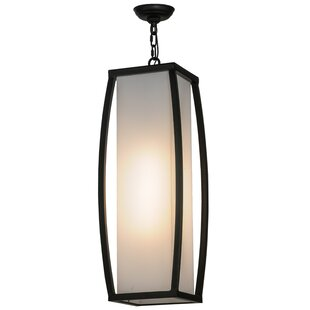 Quadrato Kitzi 1-Light Square/Rectangle Pendant by Meyda Tiffany