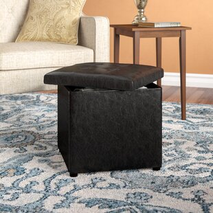 Donaldson Storage Ottoman by Charlton Home