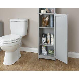 Hampton 165.5x34cm Free Standing Tall Bathroom Cabinet By Wayfair Basics