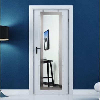 BrandtWorksLLC Modern & Contemporary Full Length Mirror Finish: Stainless Silver