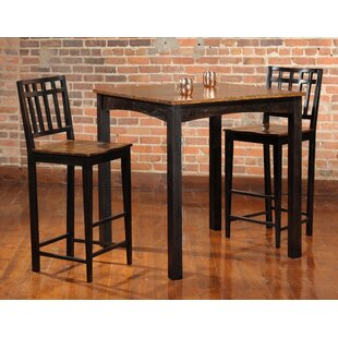 Cosgrove 3 Piece Solid Wood Dinning Set