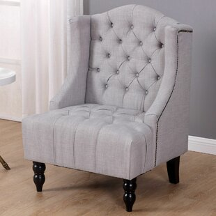Plott Wingback Chair by Charlton Home