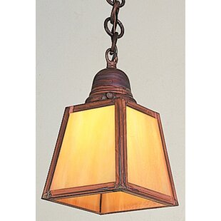 Look for A-Line 1-Light Outdoor Pendant By Arroyo Craftsman
