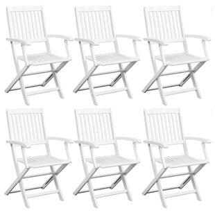 Folding Garden Chair (Set Of 6) Image