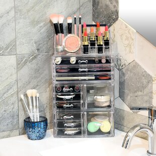 85f0ea1052ad Makeup Organizers You'll Love in 2019 | Wayfair