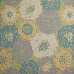 Check Out Wright Teal Blue/Yellow Indoor/Outdoor Area Rug Purchase Online