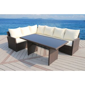 Barcelona 3 Piece Seating Group with Cushion