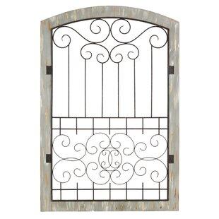 Iron Gate Wall Decor Gate Wall Decor  Wayfair