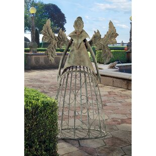 Design Toscano Tempest the Metal Garden Steel Gothic Trellis