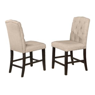 Greenlee Upholstered Counter Height Chair (Set of 2)