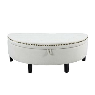 Compare prices Jacqueline Button Tufted Storage Ottoman By Iconic Home