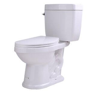 ANZZI Talos 1.6 GPF Elongated Two-Piece Toilet