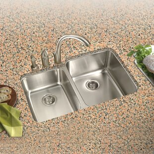 Left handed kitchen sink wayfair medallion classic 315 x 1794 2019 undermount double bowl 6040 kitchen sink with small left bowl workwithnaturefo