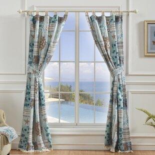 Tiebacks Holdbacks Included Tropical Nautical Curtains Drapes You Ll Love In 2021 Wayfair