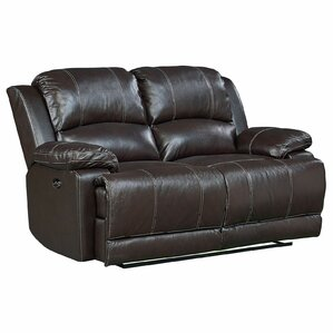 Garlock Leather Power Motion Reclining Loves..