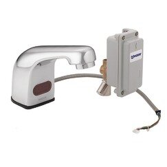 Moen M-Power Sensor-Operated Electronic Centerset Lead Compliant Bathroom Faucet