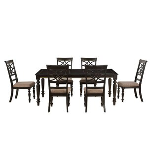 Entrekin 7 Piece Dining Set by Charlton H..