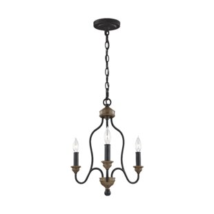 Homestown 3-Light Candle Style Chandelier