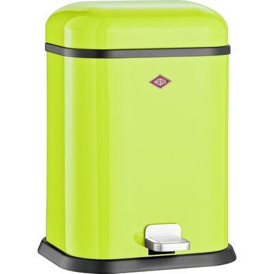 Wesco Singleboy 3.4 Gallon Step On Bathroom Trash Can Color: Lime Green