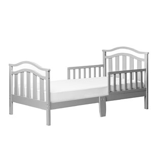 Elora Toddler Bed with Safety Rail by Dream On Me