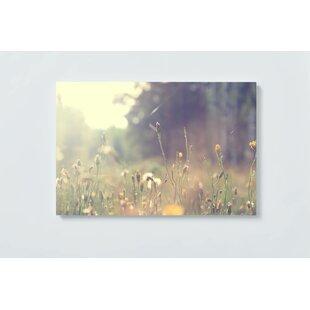 Meadow Flowers Magnetic Wall Mounted Cork Board By Ebern Designs
