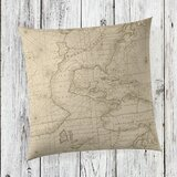 Baron Linen Throw Pillow by Birch Lane™ Heritage