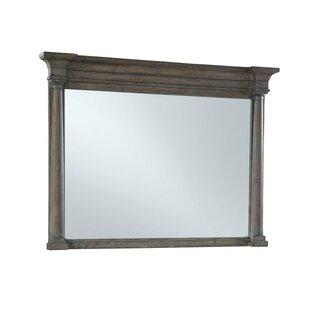 One Allium Way Laney Post Accent Mirror