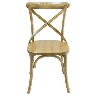 Gracie Oaks Tarun Solid Wood Dining Chair (Set of 2)