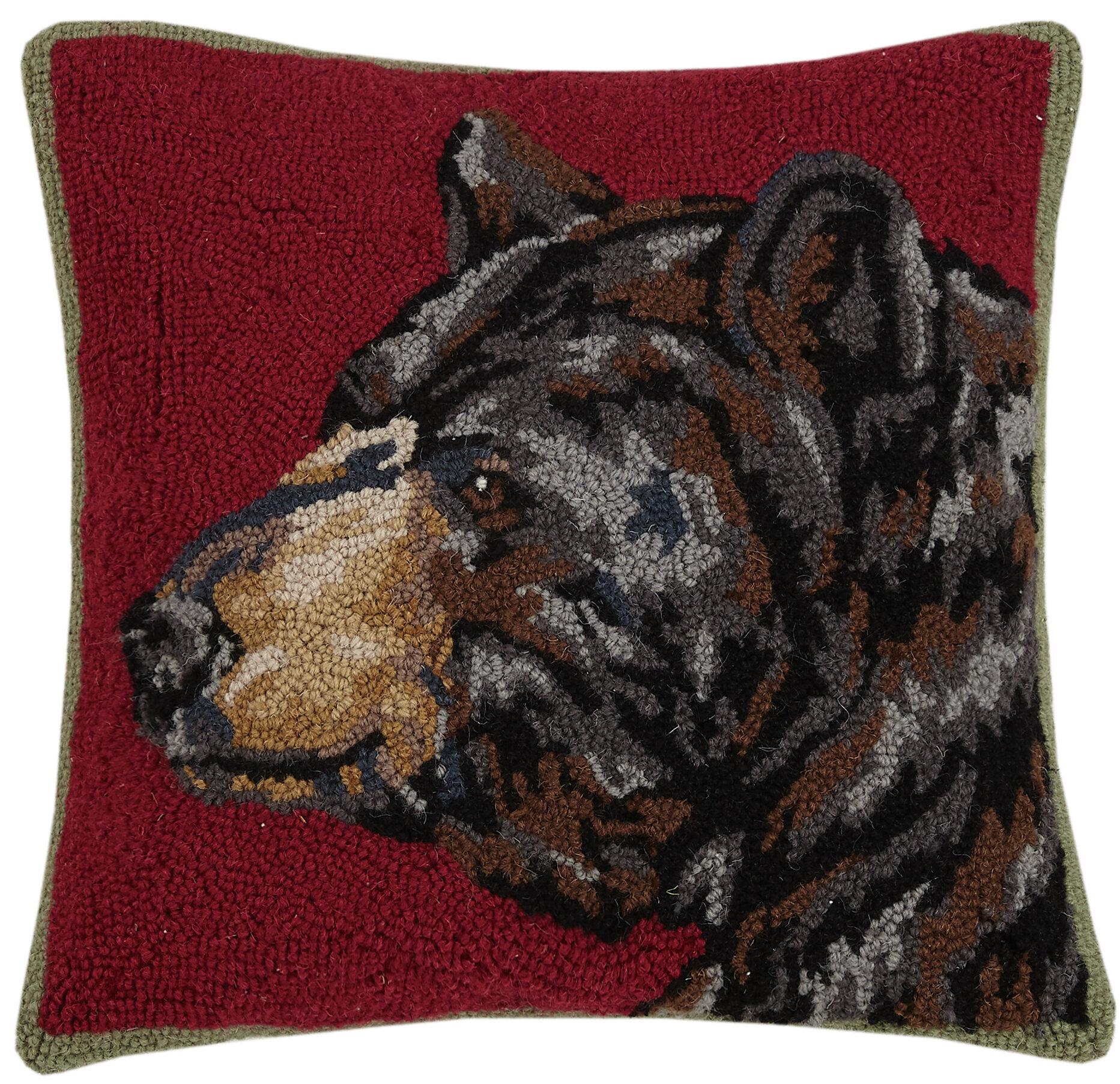 Millwood Pines Unionville Wild Wool Throw Pillow Wayfair