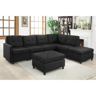 Ebern Designs Wetherby Modular Sectional ..