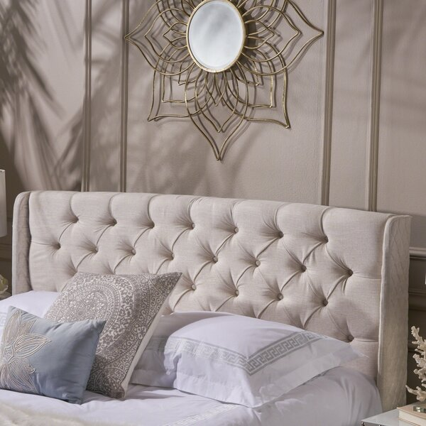 Riley Upholstered Wingback Headboard by Alcott Hill®