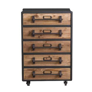 5 Drawer Accent Chest by Teton..