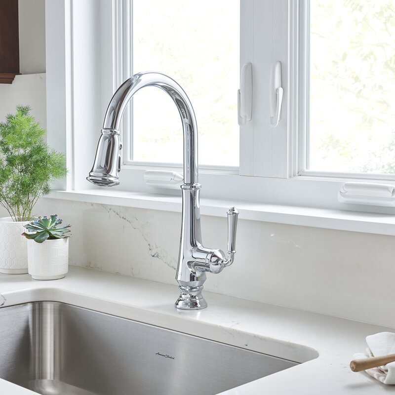 American Standard Delancey Pull Down Single Handle Kitchen Faucet