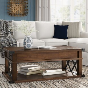 Bridget Lift Top Coffee Table Birch Lane™ Heritage