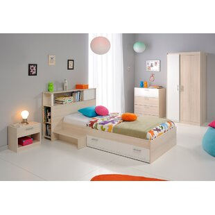 Howlett Twin Platform Bed with Step by Zoomie Kids