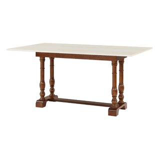 Kazuko Farmhouse Extendable Dining Table August Grove