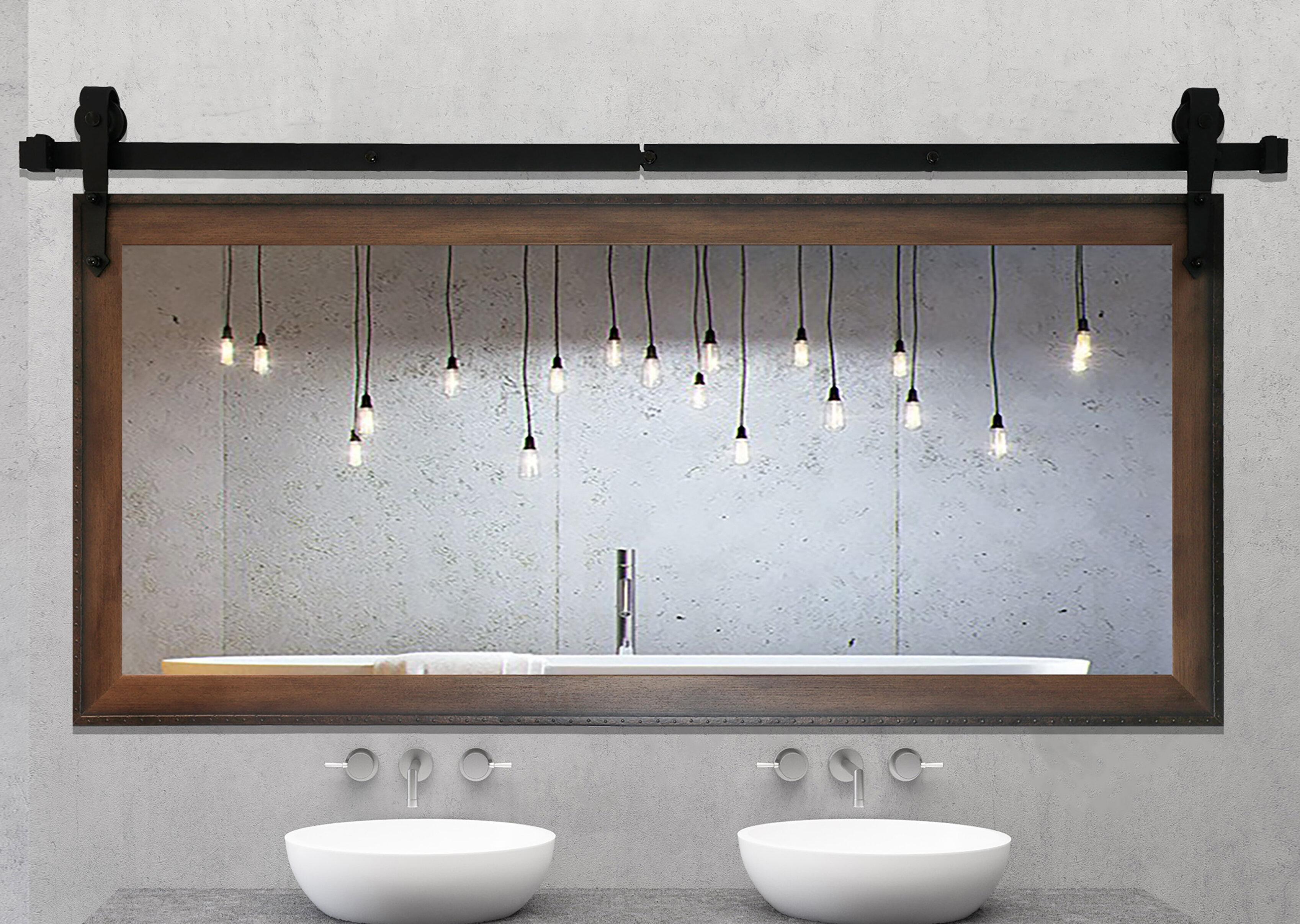 Laurel Foundry Modern Farmhouse Abraham Bathroom Vanity Mirror Reviews Wayfair