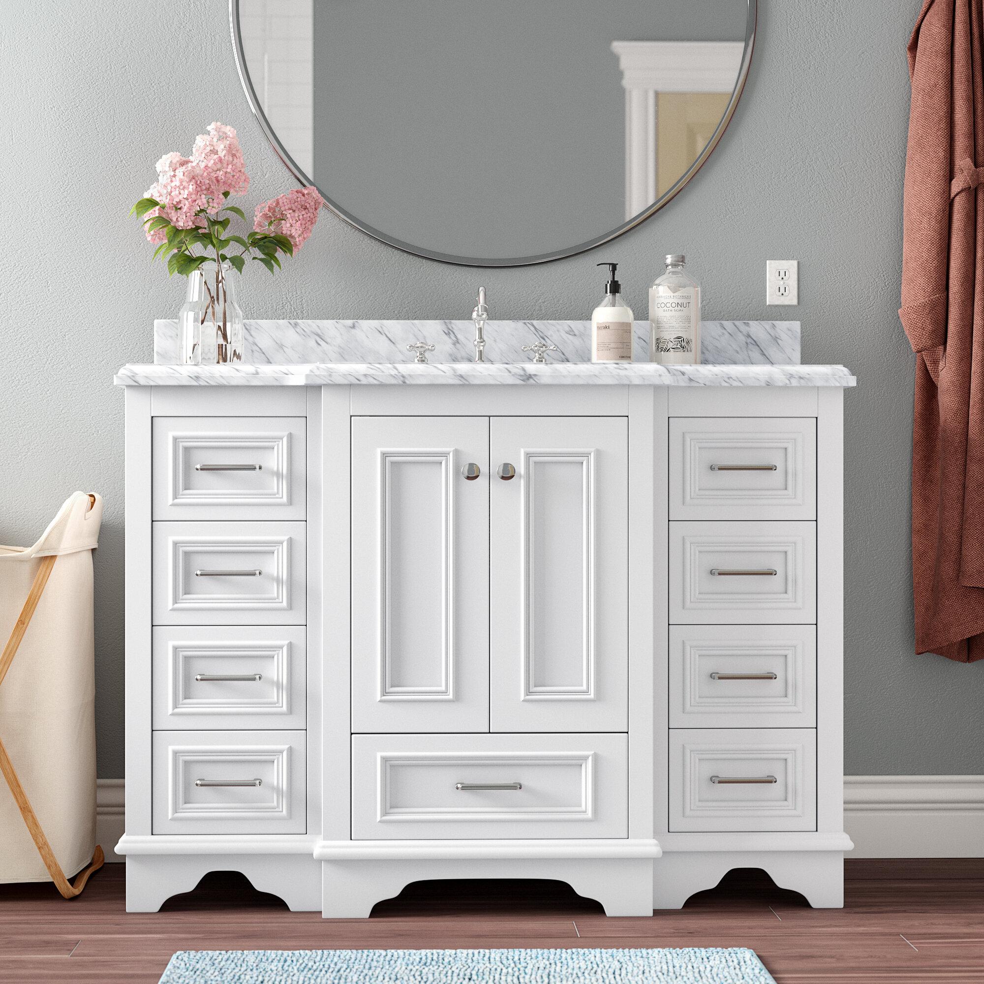 "Grayling 7"" Single Bathroom Vanity Set"
