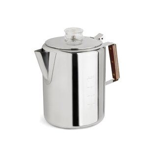 2 12 Cup Rapid Brew Stainless Steel Percolator