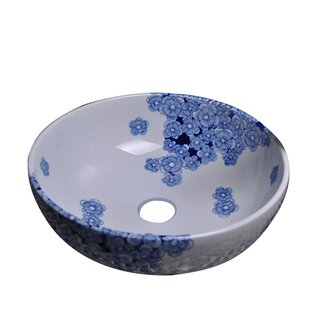 Reviews Ceramic Circular Vessel Bathroom Sink By Dawn USA