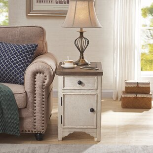 Salazar End Table with Storage