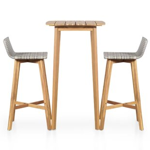 Beeson 3 Piece Bar Set By Sol 72 Outdoor