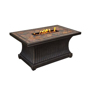 Vienna Aluminum Propane Fire Pit Table
