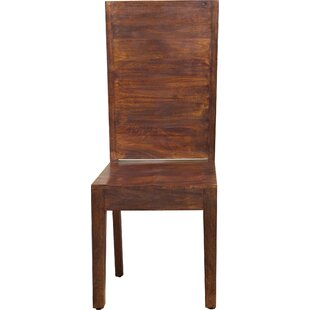 Modus Furniture Palindrome Flat Back Solid Wood Dining Chair (Set of 2)