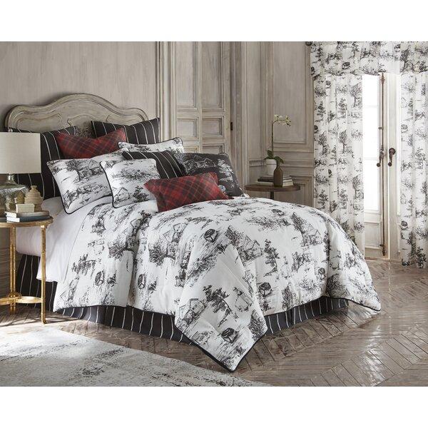 Elegant August Grove Bergenfield Cotton Comforter Set   Wayfair
