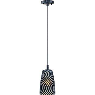 Ebern Designs Coward 1-Light LED Bell Pendant